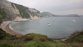 Mupe Bay east of Lulworth Cove Dorset England Royalty Free Stock Photos