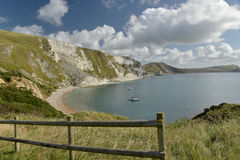 Mupe Bay near Lulworth Cove Royalty Free Stock Photos