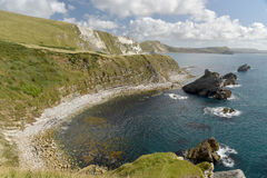 Mupe Bay near Lulworth Cove Royalty Free Stock Images