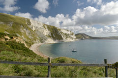 Mupe Bay near Lulworth Cove Royalty Free Stock Image