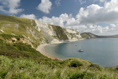 Mupe Bay near Lulworth Cove Stock Photos