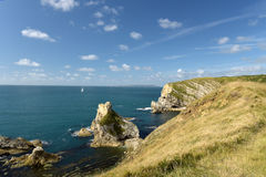Mupe Rocks near Lulworth Cove Stock Image