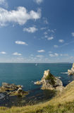 Mupe Rocks near Lulworth Cove Stock Photo