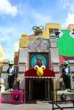 Muppets 3D, studi di Hollywood Fotografie Stock Libere da Diritti