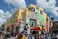 Muppets Disney World, Hollywood studior, lopp, Florida royaltyfri foto