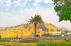 The Muqattam Mountain Royalty Free Stock Photo