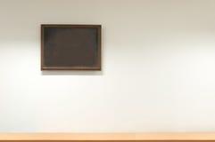 Mur à la maison et cadre décoratif, cadre de tableau Photographie stock libre de droits