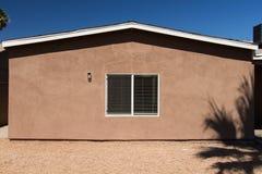 Mur à la maison extérieur Photographie stock