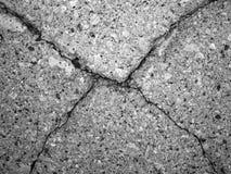 Mur âgé de plâtre Photo libre de droits