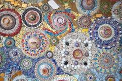 Mur abstrait coloré Image libre de droits