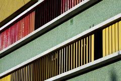 Mur abstrait de texture dans le boca Buenos Aires de La de bureau Photographie stock libre de droits