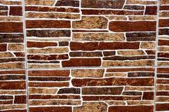 Mur admirablement décoré de maison Photographie stock