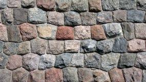 Mur antique de château (le froid colore la composition) images libres de droits