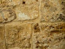 Mur antique de roches Photo stock