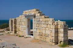 Mur antique de ville Photo libre de droits