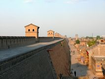 Mur antique de ville Image libre de droits
