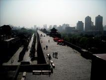 Mur antique de Xian City Images stock