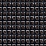 Mur argenté de fiction (texture sans joint) Photos libres de droits