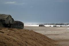 Mur atlantique Image libre de droits