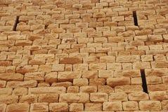 Mur au château de Karak Image libre de droits