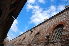 Mur au palais de Topkapi Image libre de droits