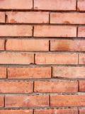 Mur avec des briques Photo libre de droits