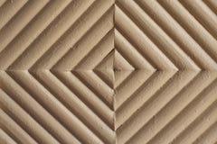 Mur avec des formes de losange Photo stock