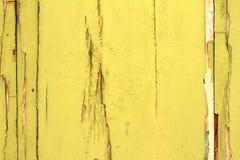 Mur avec la peinture d'épluchage Image stock