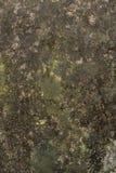 Mur avec la texture d'humidité et de rouille images stock
