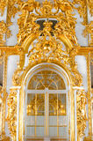 Mur avec la trappe dans le palais Photographie stock libre de droits