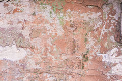 Mur avec le fond de peinture d'épluchage Photographie stock