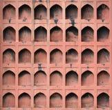 Mur avec le pentagone Image stock