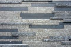 Mur avec les blocs de marbre en plan rapproché photo stock