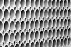 Mur avec les trous ronds image libre de droits
