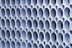 Mur avec les trous ronds photographie stock libre de droits