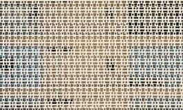 Mur bien aéré - modèle/fond architecturaux Photographie stock