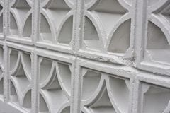 Mur blanc Photo stock