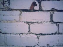 Mur blanc Photo libre de droits