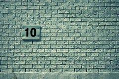 Mur blanc Image libre de droits