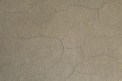 Mur blanc avec des fissures Image libre de droits