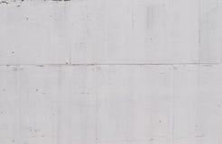 Mur blanc de cocrete Photographie stock
