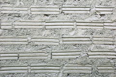 Mur blanc des briques pour le fond Photo stock