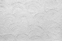 Mur blanc plâtré Photos stock