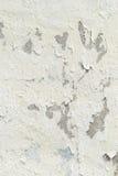 Mur blanc texturisé Image libre de droits