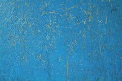 Mur bleu Photos libres de droits