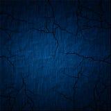 Mur bleu Image libre de droits