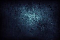Mur bleu Photographie stock