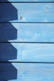 Mur bleu Photographie stock libre de droits