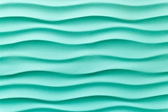 Mur bleu d'effet de vague images libres de droits
