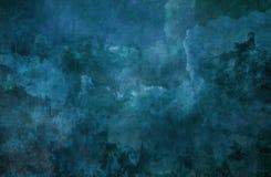 Mur bleu de fond Images stock